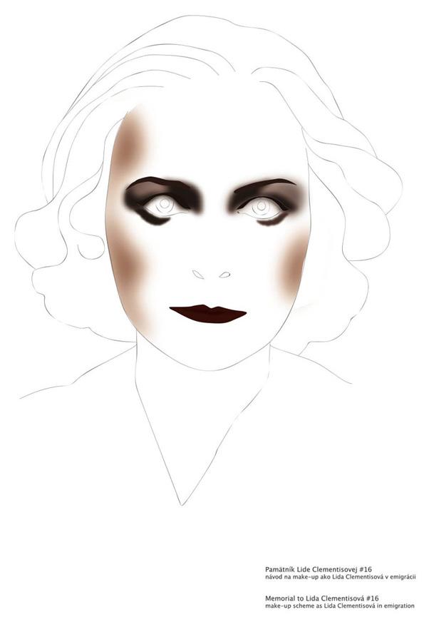Make-up scheme designed after